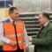 Simon Hoare MP at Blandford Forum Royal Mail Sorting Office